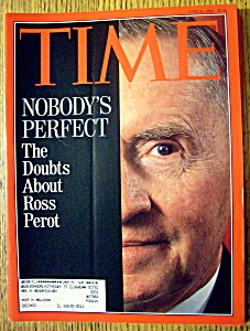 Time Magazine-june 29, 1992-ross Perot