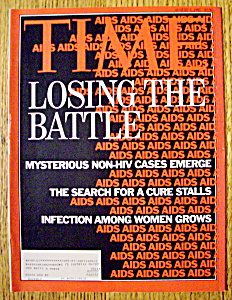 Time Magazine-august 3, 1992-losing The Battle