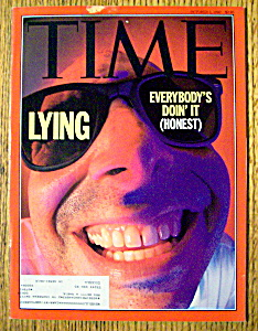 Time Magazine-october 5, 1992-lying
