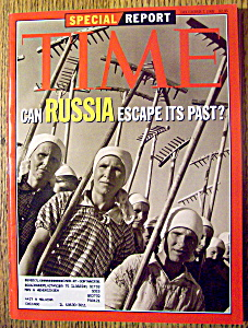 Time Magazine-december 7, 1992-russia