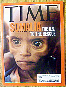 Time Magazine-december 14, 1992-somalia