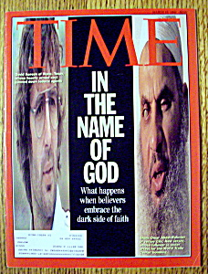 Time Magazine-march 15, 1993-in The Name Of God
