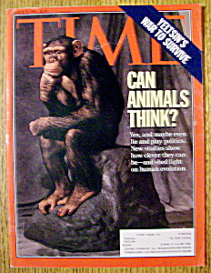 Time Magazine-march 22, 1993-can Animals Think?