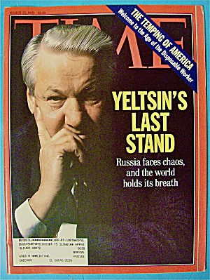 Time Magazine-march 29, 1993-yeltsin's Last Stand