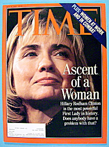 Time Magazine-May 10, 1993-Hillary Rodham Clinton (Image1)