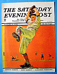 Saturday Evening Post Magazine Cover - August 18, 1934