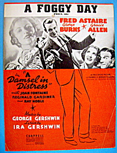 Sheet Music For 1937 A Foggy Day