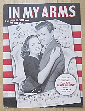 Sheet Music For 1943 In My Arms (Image1)