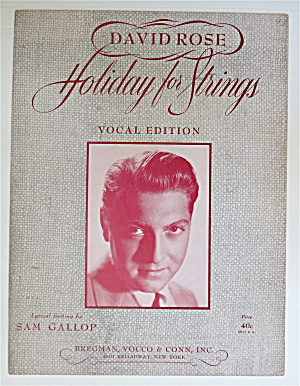 1944 David Rose Holiday For Strings