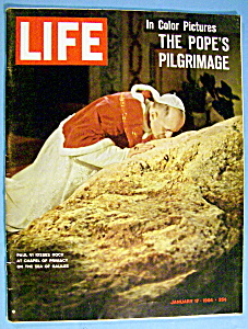 Life Magazine-january 17, 1964-pope Paul Vi
