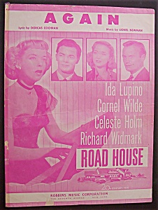 1948 Again From Road House With Ida Lupino & More