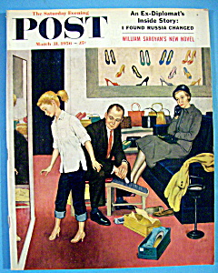 Saturday Evening Post Magazine-March 31, 1956-A. Sewell (Image1)