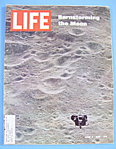 Life Magazine-june 6, 1969-barnstorming The Moon
