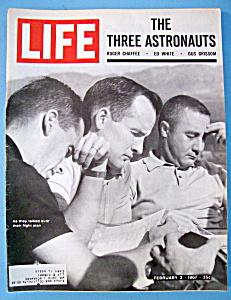 Life Magazine-February 3, 1967-Three Astronauts (Image1)
