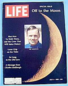 Life Magazine-july 4, 1969-off To The Moon