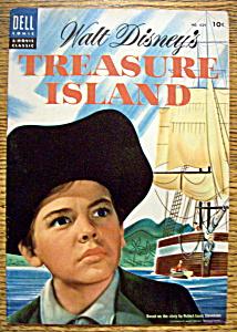 Walt Disney's Treasure Island Comic #624 - 1955 (Image1)