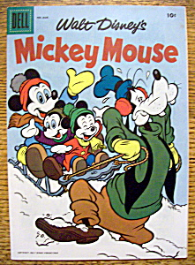 Walt Disney's Mickey Mouse Comics #52 Feb. - March 1957 (Image1)