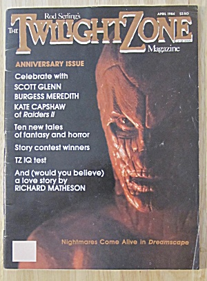 The Twilight Zone Magazine April 1984 Dreamscape  (Image1)