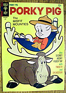 Porky Pig Comic #13 - July 1967 Gold Key Comics