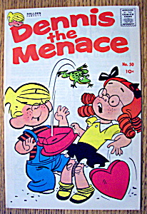 Dennis The Menace Comic #50-April 1961-Be My Valentine (Image1)