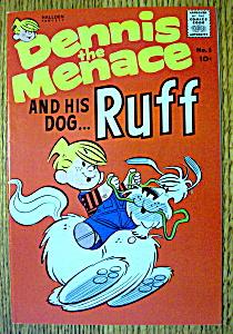 Dennis The Menace Comic #1-Summer 1961-His Dog Ruff (Image1)