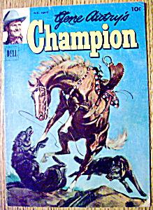 Gene Autry's Champion Comic #5 - 1952 (Image1)