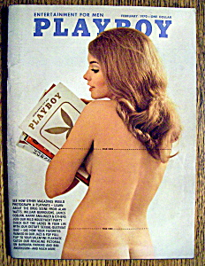 Playboy Magazine-february 1970-linda Forsythe