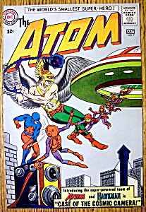 The Atom Comic Cover-july 1963-atom & Hawkman
