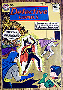 Detective Comics Cover-december 1960-batman Cover