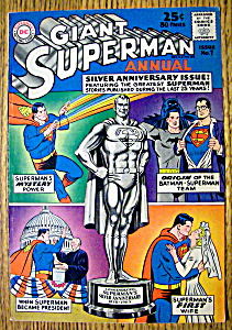 Giant Superman Annual Comic Cover-1963-Superman Cover (Image1)