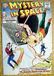 Mystery In Space Comic Cover-november 1963-hawkman