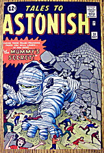 Tales To Astonish Comic Cover-May 1962-Mummy's Secret (Image1)