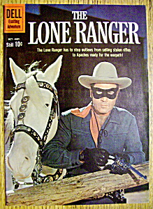 Lone Ranger Comic Cover-early 1960's-lone Ranger
