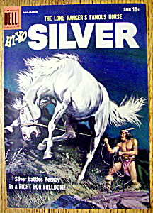 Lone Ranger's Horse Silver Comic Cover-Jan-March 1958 (Image1)