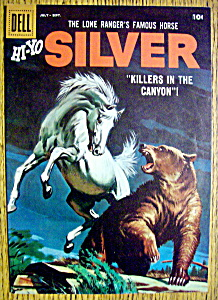 Lone Ranger's Horse Silver Comic Cover-July-Sept 1950's (Image1)