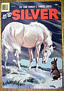 Lone Ranger's Horse Silver Comic Cover-Jan-March 1957 (Image1)