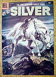 Lone Ranger's Horse Silver Comic Cover-July-Sept 1957 (Image1)