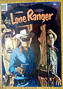 Lone Ranger Comic Cover-July 1955 (Image1)
