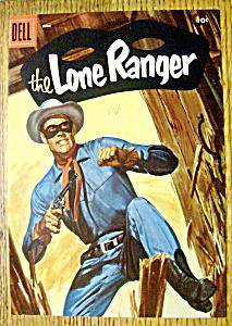 Lone Ranger Comic Cover-June 1956 (Image1)