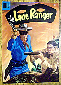 Lone Ranger Comic Cover-December 1950's (Image1)
