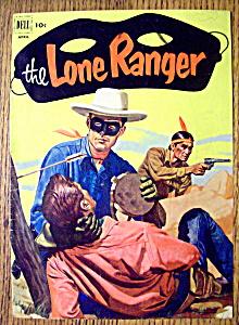 Lone Ranger Comic Cover-April 1952 (Image1)