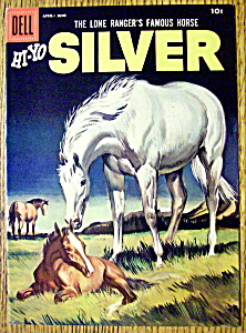 Lone Ranger's Horse Silver Comic Cover-April-June 1958 (Image1)