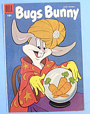 Bugs Bunny Comic Cover-august-september 1955