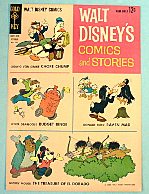 Walt Disney's Comics And Stories Comic Cover - Oct 1962
