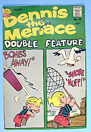 Dennis the Menace Comic Cover #54-1961-Bombs Away (Image1)