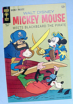 Walt Disney Mickey Mouse Comic Cover - Aug 1967