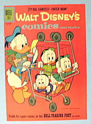 Walt Disney's Comics And Stories Comic Cover - Oct 1961