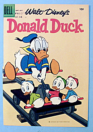 Walt Disney's Donald Duck Comic Cover - Sept/oct 1958