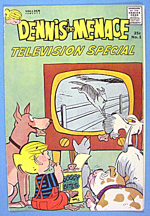 Dennis The Menace Comic Cover #1 TV Special 1961 (Image1)