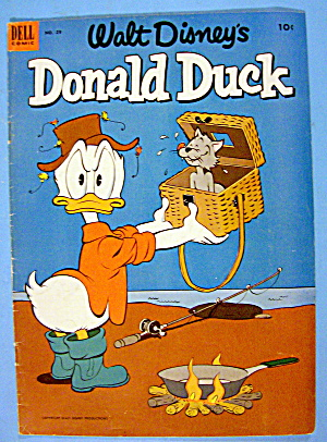 Donald Duck Comic Cover #29 May-june 1953